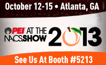 PECI 2013 - Visit us at booth #5213